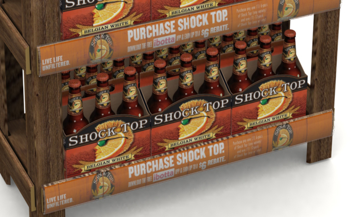 Shock Top - EZPost - Display